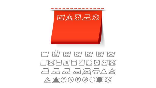 textiles label