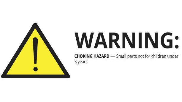 Children's Product Warning Label